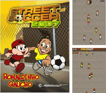 Download free mobile game: Ronaldinho Street Soccer 2007 - download free games for mobile phone.