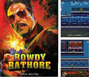 In addition to the game Sехy Manga Poker for mobile phone, you can download mobile game Rowdy Rathore for free.