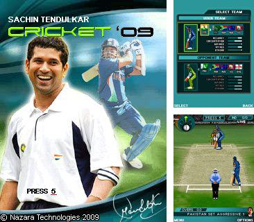 In addition to the game Fruit Mania for mobile phone, you can download mobile game Sachin Tendulkar Cricket 2009 for free.