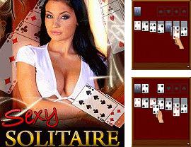 Download free mobile game: Sехy Solitaire - download free games for mobile phone.