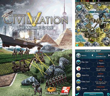 En plus du jeu Les Echecs avec Karpov 3D pour votre téléphone, vous pouvez télécharger gratuitement La Civilisation de Sid Meiers 5. Le Jeu Portable, Sid Meiers Civilization 5 The Mobile Game.