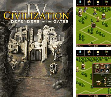 En plus du jeu H.A.W.X. de Tom Clancy pour votre téléphone, vous pouvez télécharger gratuitement La Civilisation 4: Les Guardiens des Portes, Sid Meier's Civilization 4: Defenders of the Gates.