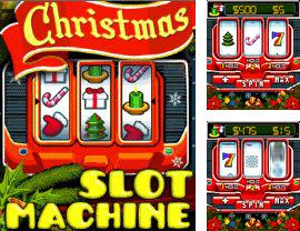 Download free mobile game: Slot Machine Christmas - download free games for mobile phone.