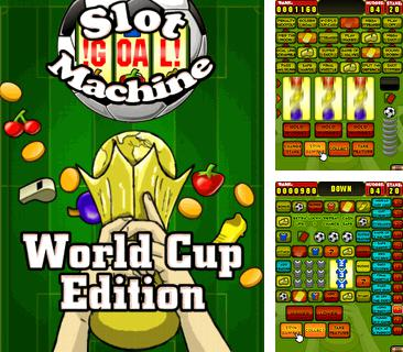 Download free mobile game: Slot Machine World Cup Edition - download free games for mobile phone.