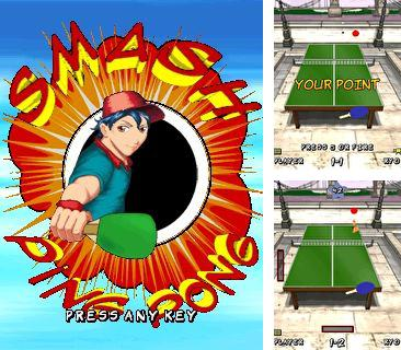 In addition to the game Homing fish for mobile phone, you can download mobile game Smash Ping Pong for free.