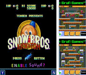 In addition to the game Everest biking for mobile phone, you can download mobile game Snow bros for free.