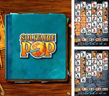 Download free mobile game: Solitaire Pop - download free games for mobile phone.
