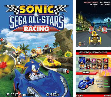 In addition to the game Pro Evolution Soccer 2011 UNCAF + EURO 2012 for mobile phone, you can download mobile game Sonic and Sega All Stars Racing for free.