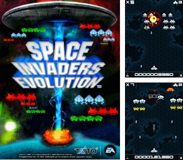 In addition to the game Spider-Man 3 for mobile phone, you can download mobile game Space Invaders: Evolution for free.