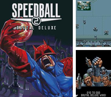 Download free mobile game: Speedball 2: Brutal Deluxe - download free games for mobile phone.