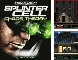 In addition to the game Xmas pinball fever for mobile phone, you can download mobile game Splinter Cell: Chaos Theory for free.