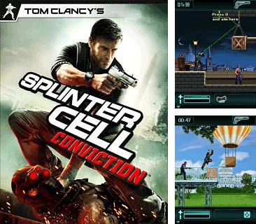 In addition to the game Popular solitaires for mobile phone, you can download mobile game Splinter Cell: Conviction for free.