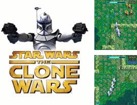 In addition to the game Popular solitaires for mobile phone, you can download mobile game Star Wars: The Clone Wars for free.
