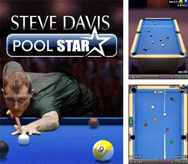 In addition to the game Tennis: The game for mobile phone, you can download mobile game Steve Davis Pool Star for free.