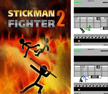 In addition to the game Subway Surfers: Rome (Jungle) for mobile phone, you can download mobile game Stickman fighter 2 for free.