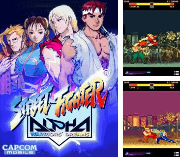 En plus du jeu 2012: Légende fatale  pour votre téléphone, vous pouvez télécharger gratuitement Le Combattant de Rues: les Guerriers Alpha, Street Fighter: Alpha Warriors' Dreams.