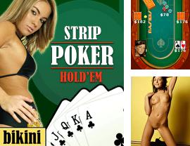 Download free mobile game: Strip poker Holdem - download free games for mobile phone.