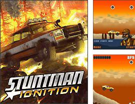 In addition to the game NBA Live 2010 for mobile phone, you can download mobile game Stuntman: Ignition for free.