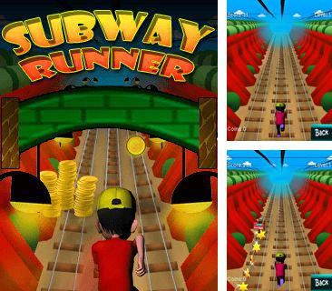 In addition to the game Crazy fruit kart for mobile phone, you can download mobile game Subway runner 2014 for free.