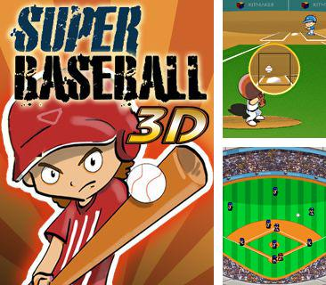 Download free mobile game: Super Baseball 3D - download free games for mobile phone.