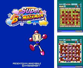In addition to the game The house of 2 Tajiks for mobile phone, you can download mobile game Super Bomberman for free.