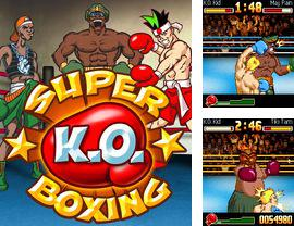In addition to the game LEGO Racers for mobile phone, you can download mobile game Super KO Boxing for free.