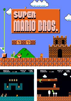In addition to the game Bookworm for mobile phone, you can download mobile game Super Mario Bros 3 in 1 for free.