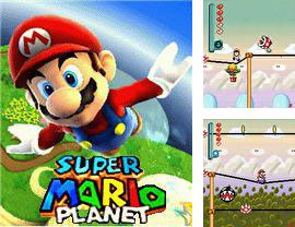 In addition to the game Flatout 3D for mobile phone, you can download mobile game Super Mario Planet for free.