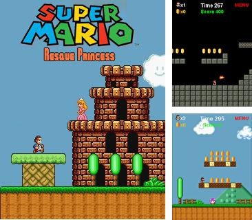 In addition to the game Super Mario rescue princess for Android, you can download other free Android games for Samsung Galaxy A9.