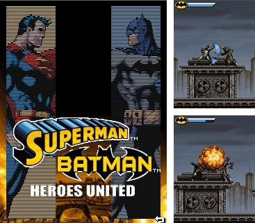 In addition to the game Heavenly sword divine comedy: The Legend of heroes for mobile phone, you can download mobile game Superman & Batman: Heroes United for free.