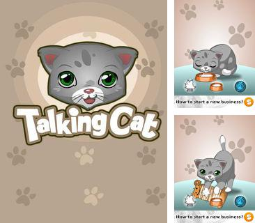 In addition to the game Forever alone quest for mobile phone, you can download mobile game Talking cat for free.
