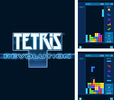In addition to the game Grand prix 3D for mobile phone, you can download mobile game Tetris Revolution for free.