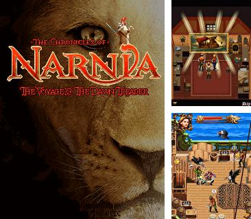 Además del Java juego Palacio de hielo para teléfonos móviles, también puedes descargarte gratis Las crónicas de Narnia: La travesía del Explorador del Amanecer, The Chronicles of Narnia: The Voyage of the Dawn Treader.