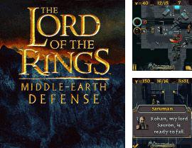 Además del Java juego Defensa del dragón para teléfonos móviles, también puedes descargarte gratis El Señor de los Anillos: Defensa de la tierra media, The Lord of The Rings: Middle-Earth Defense.