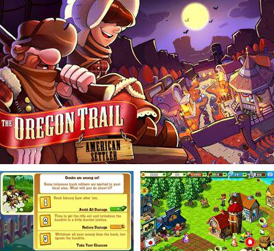 In addition to the game Xtreme cricket: Ace fielder for mobile phone, you can download mobile game The Oregon Trail: American Settlers for free.