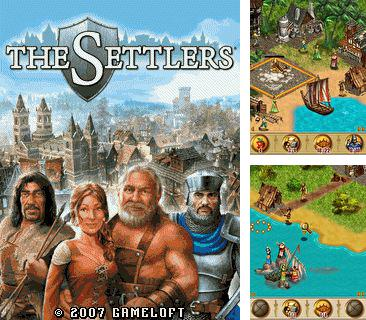In addition to the game Mobi xonix 3D for mobile phone, you can download mobile game The Settlers for free.