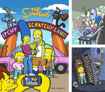 In addition to the game Finger drag for mobile phone, you can download mobile game The Simpsons 2: Itchy & Scratchy Land for free.