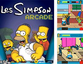 In addition to the game My mahjong for mobile phone, you can download mobile game The Simpsons Arcade for free.