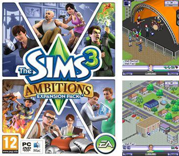 In addition to the game Monsters university for mobile phone, you can download mobile game The Sims 3: Ambitions for free.