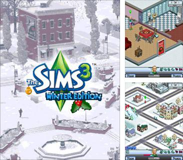 In addition to the game Police car driver for mobile phone, you can download mobile game The Sims 3: Winter edition for free.