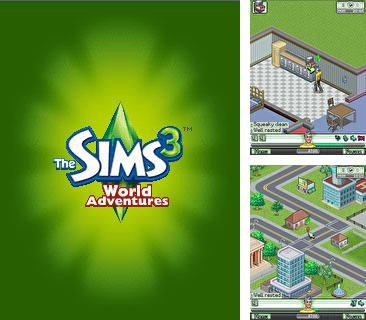 In addition to the game Bombay Rickshaw  Two Way Nightmare for mobile phone, you can download mobile game The Sims 3: World Adventures for free.