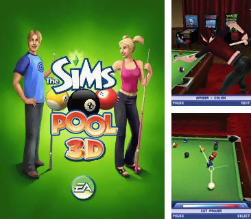 In addition to the game Real Football 2006 3D for mobile phone, you can download mobile game The Sims: Pool for free.