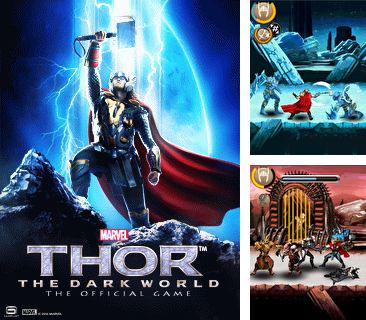 In addition to the game Block Breaker Deluxe for mobile phone, you can download mobile game Thor: The dark world for free.