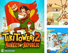In addition to the game NBA Live 2008 for mobile phone, you can download mobile game Tiki Towers 2 Monkey Republic for free.