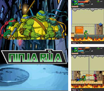 In addition to the game Paris Hilton's Diamond Quest for mobile phone, you can download mobile game TMNT: Ninja Rua for free.