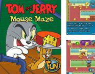 Además del Java juego U-Shuffle para teléfonos móviles, también puedes descargarte gratis Tom and Jerry: laberinto de ratones, Tom and Jerry: mice labyrinth.