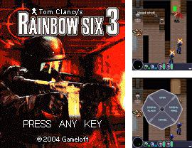 Download free mobile game: Tom Clancy's: Rainbow Six 3 - download free games for mobile phone.