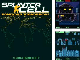In addition to the game Townsmen for mobile phone, you can download mobile game Tom Clancy's Splinter Cell: Pandora Tomorrow for free.