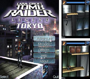 In addition to the game FIFA 09 RPL for mobile phone, you can download mobile game Tomb Raider - Legend Tokyo for free.