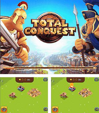 In addition to the game Babe machine: Bouncing boobs for mobile phone, you can download mobile game Total conquest for free.